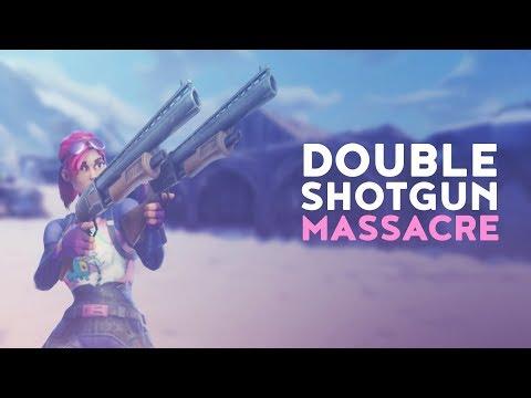 DOUBLE SHOTGUN MASSACRE (Fortnite Battle Royale)