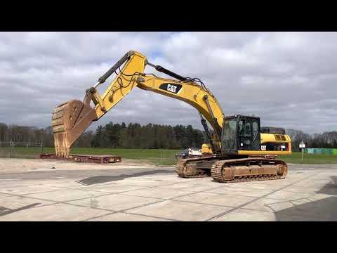 Used heavy machinery Caterpillar 336DL Гусеничный экскаватор