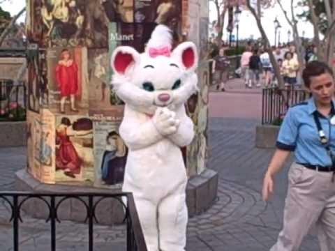 Marie The Aristocats Epcot Disney World Youtube