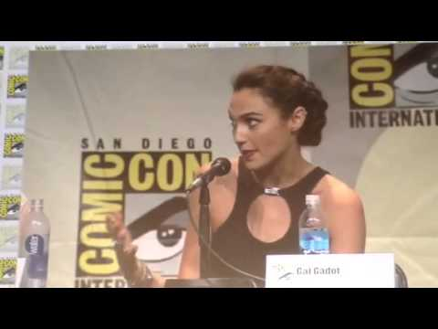 Gal Gadot Wonder Woman On How She Portrays Women - Comic Con #SDCC