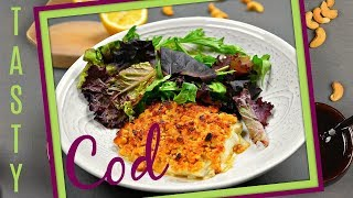 TASTY ATLANTIC COD RECIPE - HOW TO COOK COD IN THE OVEN