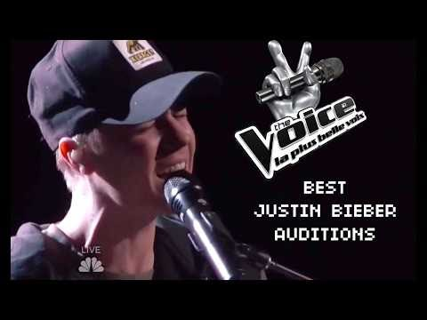 BEST JUSTIN BIEBER BLIND AUDITIONS IN THE VOICE KIDS [2018]