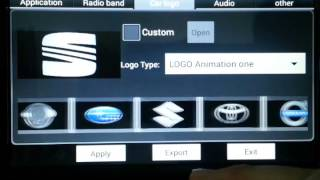 w2 d70xx series android 4 4 how to change car logo powered by witson