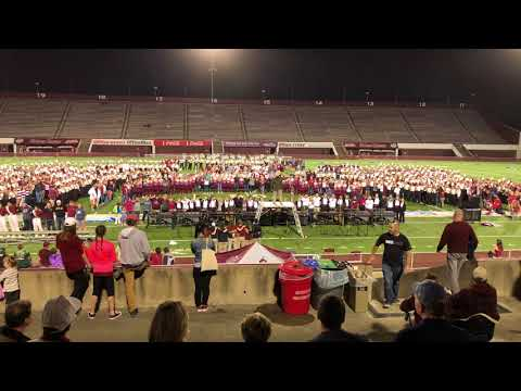 My Way - UMass Amherst Minuteman Marching Band - 5th Quarter - October 21, 2017