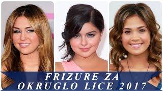 Frizure za okruglo lice 2017