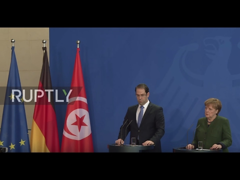 Germany: Merkel eager to reach refugee agreement with Tunisia