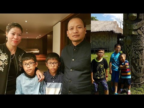 Boxer Mary Kom Husband and Family Rare and Unseen Images