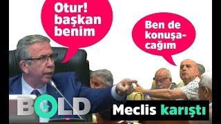 Ankara Belediye Meclisi yine karıştı   Mansur Yava
