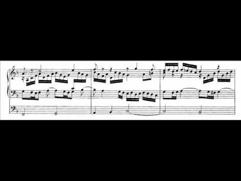 J.S.Bach, Fantasie super Komm, Heiliger Geist in organo pleno BWV 651