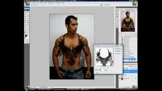photoshop   Tatto Thumbnail