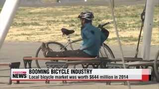 0406 Korea′s bicycle industry riding wave of changing demographics, established