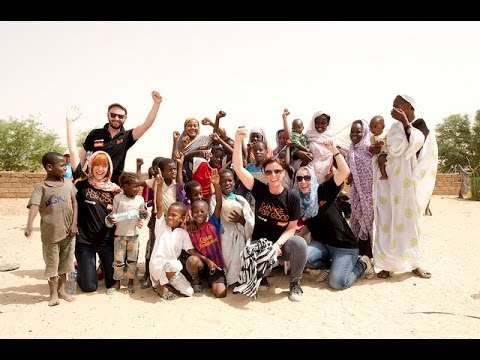 easyJet staff join UNICEF in Mauritania to learn about polio