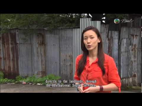 TVB Pearl report on refugee slums in Hong Kong -  20 Jun 2013