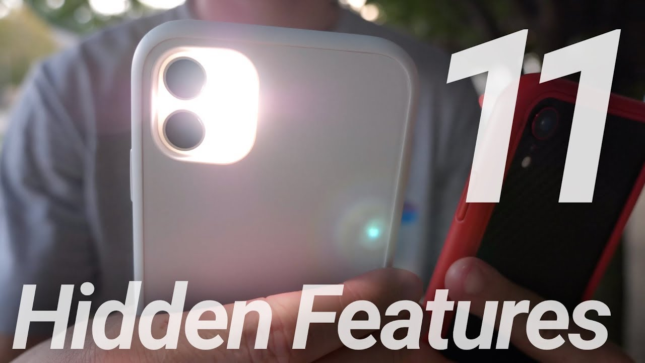 iPhone 11 & 11 Pro Hidden Features & Changes!