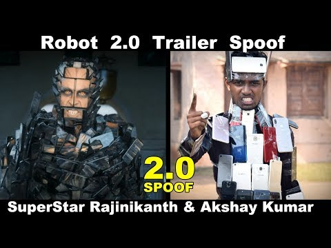 Robot 2.0 Trailer Spoof | Rajinikanth | Akshay Kumar | OYE TV