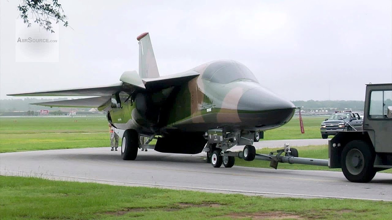 Last Surviving F-111 Aardvark Aircraft - YouTube