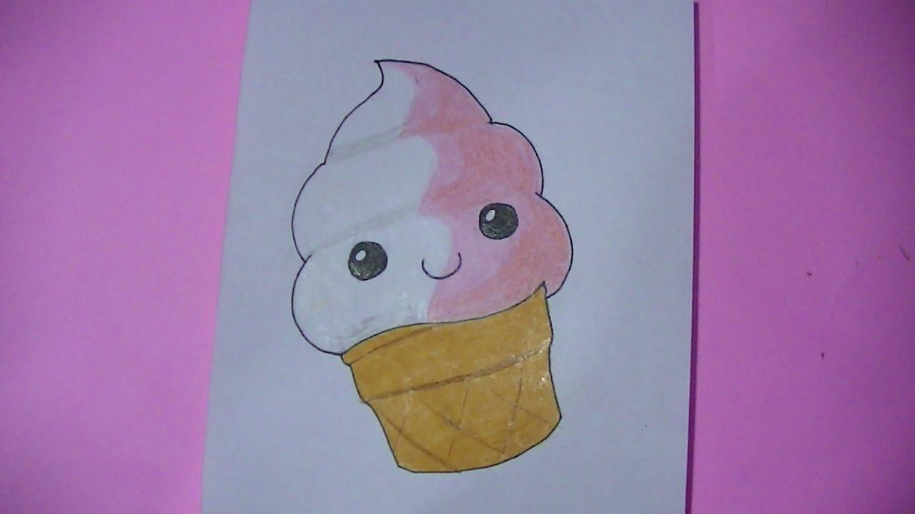 dibujos kawaii para colorear de unicornio