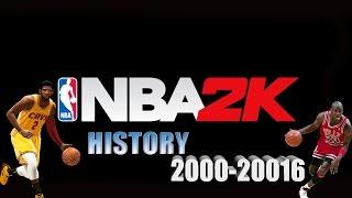 Nba2k history 2000-2016