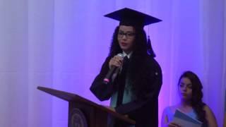 Discurso emotivo de graduación Lucy Pérez