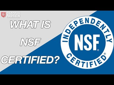 What Is NSF Certified? (Supplements)