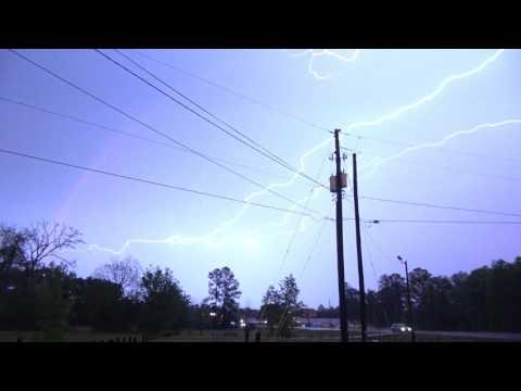 Reidsville, GA Tornado Warned Storm- 04-05-2017
