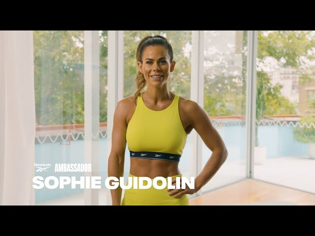 20 min workout feat. Sophie Guidolin. Powered by the Reebok Nano X1, The Official Shoe of Fitness.