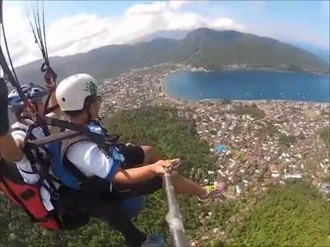 Tandem Paragliding in Sangihe Island
