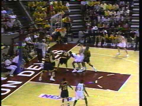 1996 NCAA Tournament - George Washington versus Iowa (Part 5)