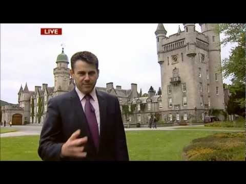 The London 2012 Olympic Flame Expected at Balmoral Estate