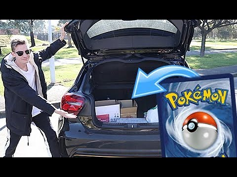 Donating a CAR FULL of Pokemon Cards