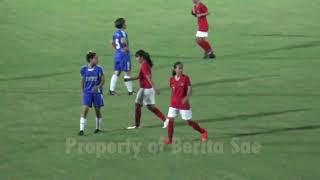 Seru, Timnas Wanita Indonesia Libas Persema Putri Kota Malang 7-1