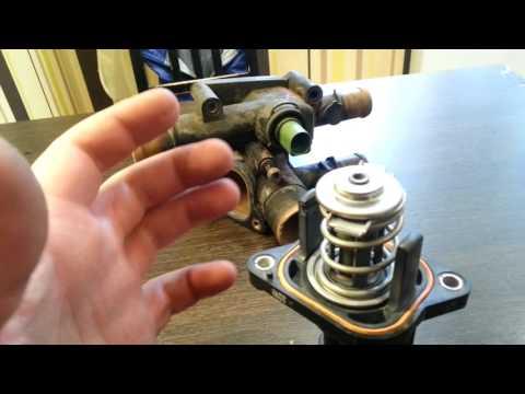 Разобранный термостат SKODA OCTAVIA двигатель 1.6 BFQ