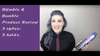 Bumble & Bumble Hairspray Review