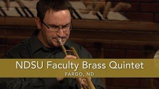 NDSU Faculty Brass Quintet Galliard Battaglia