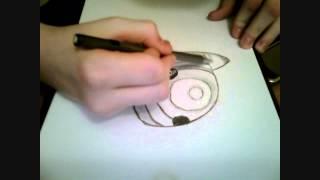 How To Draw Uchiha Madara | By KulasCz
