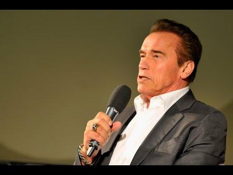 A conversation with... Arnold Schwarzenegger