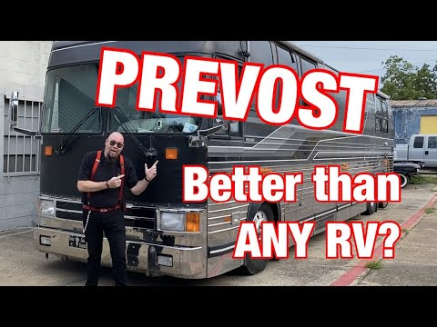 Prevost Bus - Don't Buy A RV Before Watching This Video!