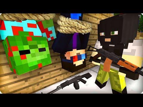 Я обманул бандитов [ЧАСТЬ 44] Зомби апокалипсис в майнкрафт! - (Minecraft - Сериал)