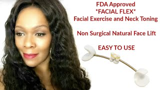 FACIAL FLEX  FACE LIFT  NATURAL FACE LIFT Without Surgery Non-Surgical Facial Lift