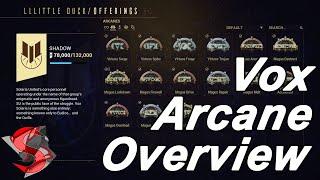 Warframe | Vox Solaris Arcane Overview