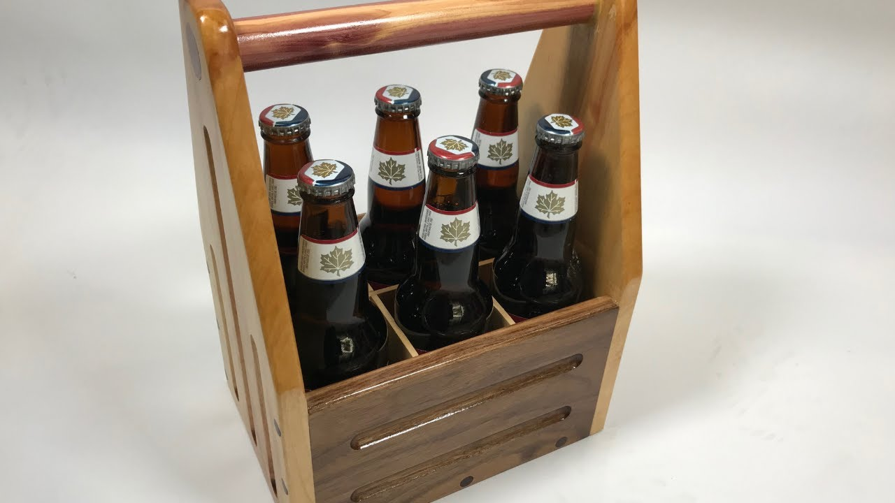How To Build A Beer Caddy With Free Plans