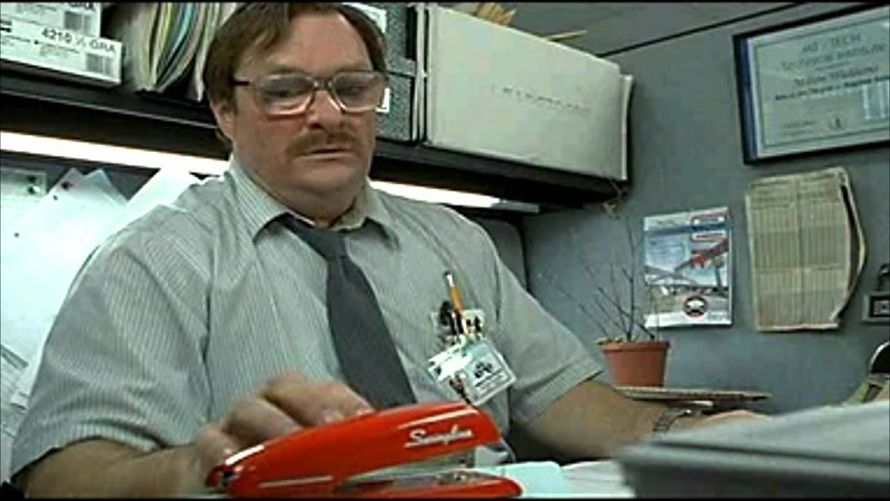 Image gallery milton stapler for Office space