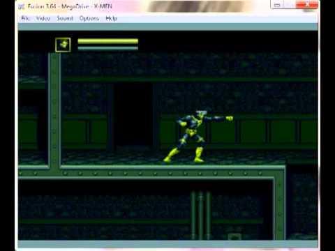 X - Men - Mega Drive / Genesis Longplay