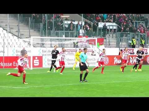 Rot Weiss Essen-Rot Weiss Oberhausen 2 Halbzeit 28 10 2017!