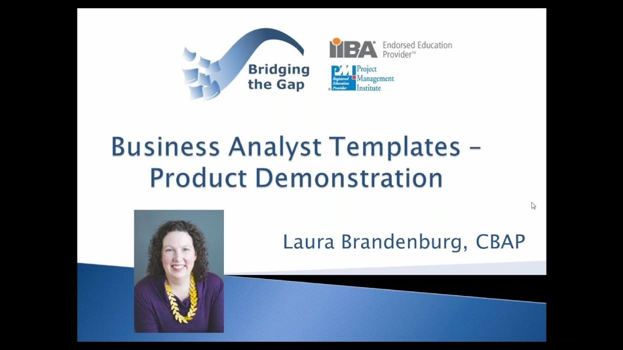 Business analyst templates examples samples and techniques youtube business analyst templates examples samples and techniques wajeb Gallery
