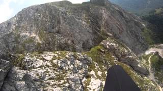 Paragliding Julian Alps - a 190km adventure