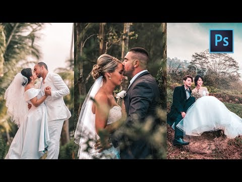 [ Photoshop Tutorial ] WEDDING Color Tone  + FREE PRESET