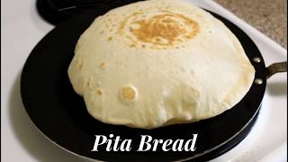 Pita Bread - How to Make Pita Bread at Home -Without Oven Recipe