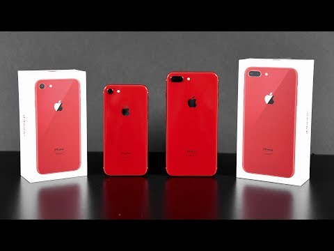 Apple iPhone 8 & 8 Plus (RED): Unboxing & Review