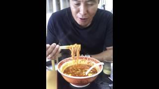 鹿児島市三和町のおいしいラーメン屋さんにあるチャレンジメニュー。 普...